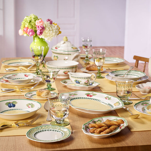 French Garden Dinner Set