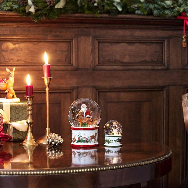Christmas Toy's palla di vetro piccola con neve Gesù bambino, 6,5 x 6,5 x 9 cm, , large
