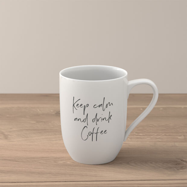 """Statement Tazza """"Keep calm and drink coffee"""", , large"""