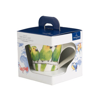 NewWave Caffè pappagallino Bicchiere con manico(imballaggio regalo)