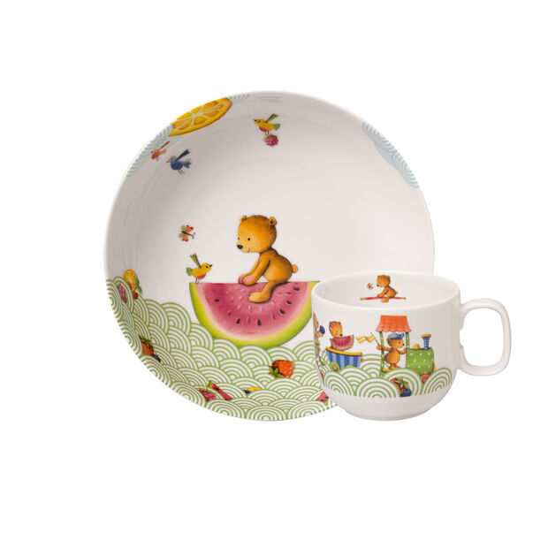 Hungry as a Bear Set vajilla infantil, 2 piezas, , large