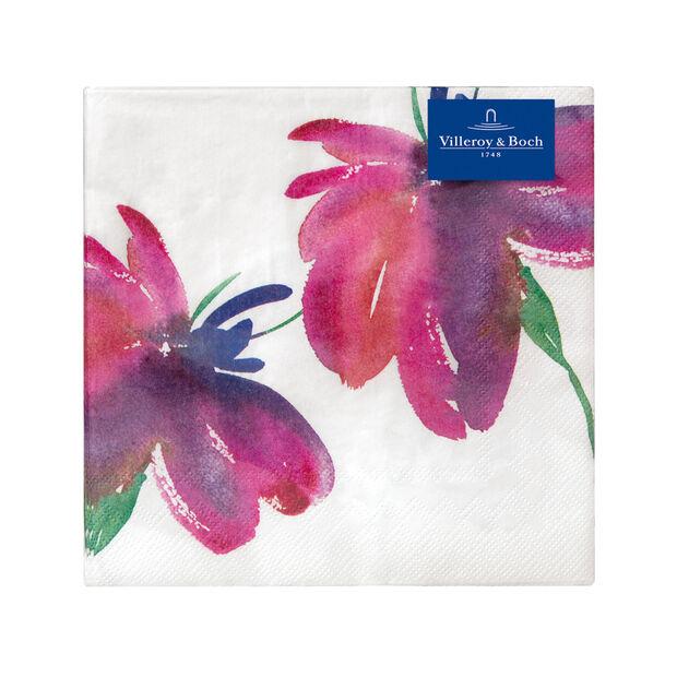 Servilletas de papel Artesano Flower Art Lunch, 20 unidades, 33x33cm, , large