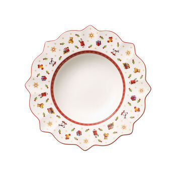 Toy's Delight piatto fondo bianco