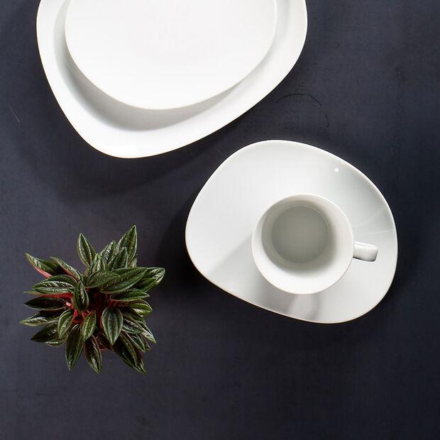 Organic White taza de café, blanco, 270 ml, , large