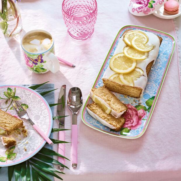 Rose Cottage piatto da torta rettangolare, , large
