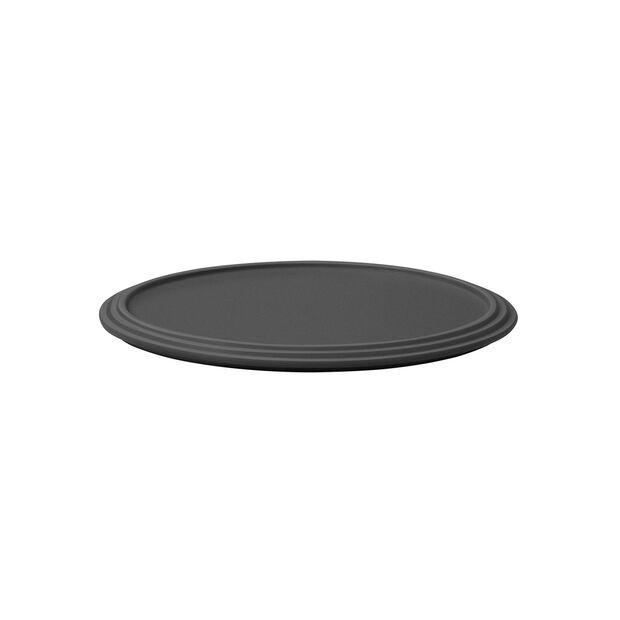 Iconic plato de servir, negro, 24 x 1 cm, , large