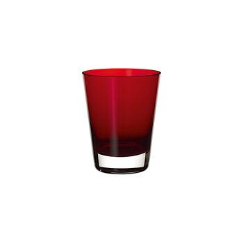Colour Concept bicchiere da cocktail/acqua Red