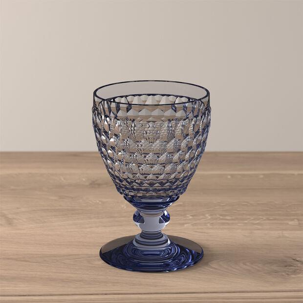 Boston Coloured Bicchiere da vino bianco Blue, , large