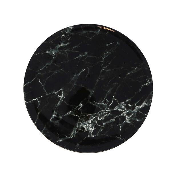 Marmory plato llano Black, 27 x 27 x 1,5 cm, , large