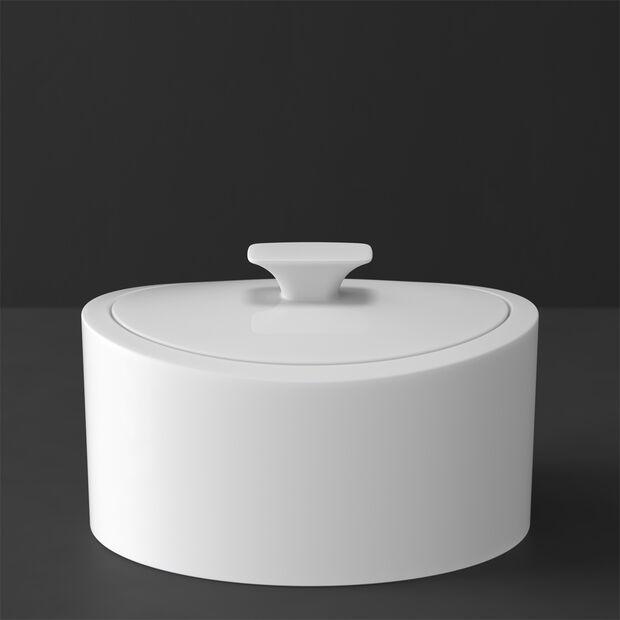 MetroChic blanc Gifts Scatola di porcellana 16x13x10cm, , large