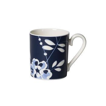 Vieux Luxembourg Brindille taza grande de café azul