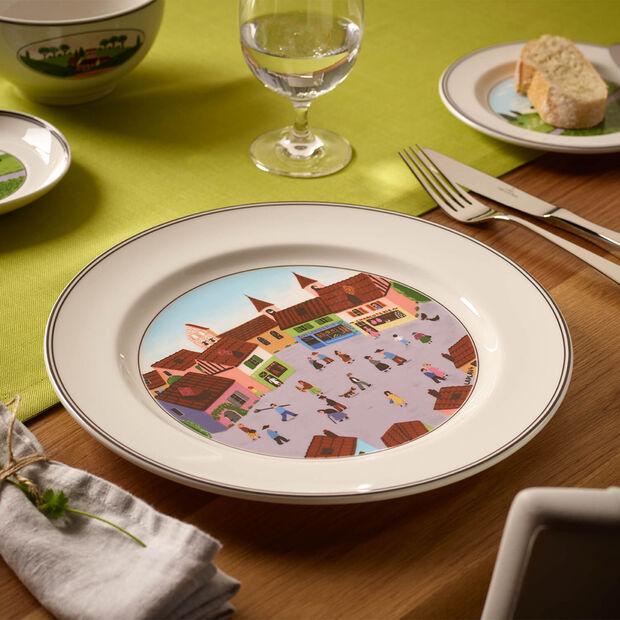 Design Naif piatto piano Villaggio, , large