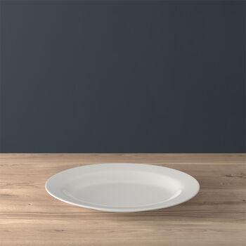 Twist White Piatto ovale (3) 34cm