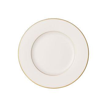 Anmut Gold plato de desayuno, diámetro de 22 cm, blanco/oro