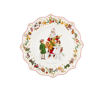 Annual Christmas Edition Piatto colazione 2021 24x24cm
