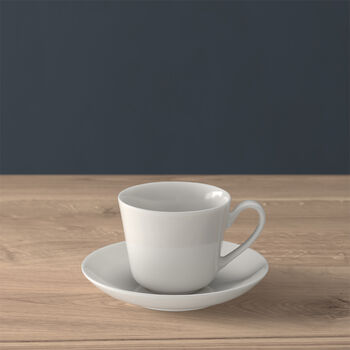 Twist White Tazza espresso con piattino 2pz.