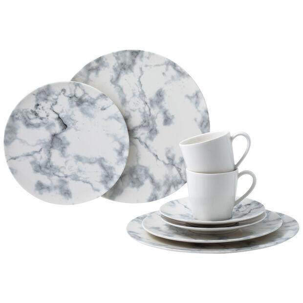 Marmory set combinado White, blanco, 8 piezas, , large