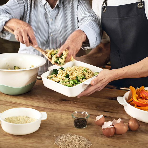 Clever Cooking fuente para servir cuadrada 21 x 21 cm, , large
