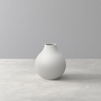Manufacture Collier blanc Vaso Perle piccolo 11x11x12cm