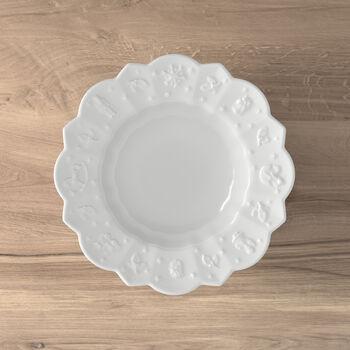 Toy's Delight Royal Classic piatto fondo, bianco, 332 ml