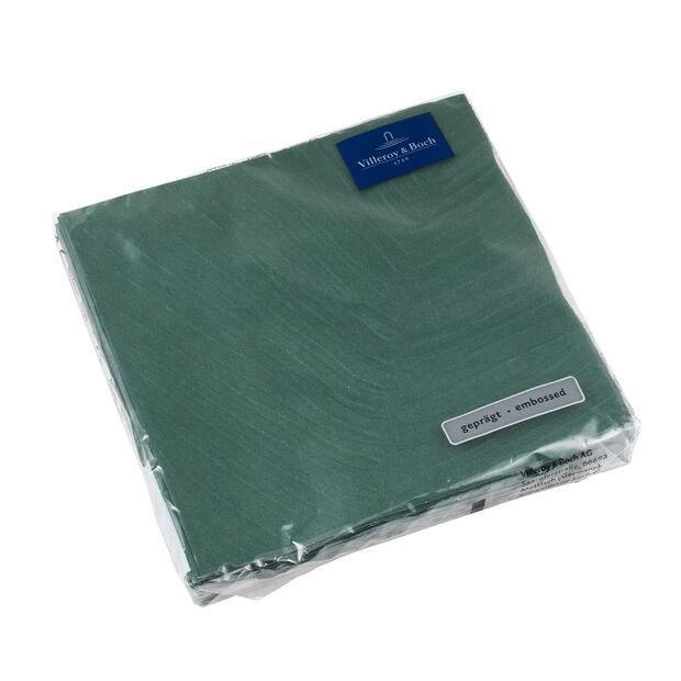like.by Villeroy & Boch Tovaglioli di carta it's my match green leaf Lunch, 33 x 33 cm, 20 pezzi, , large