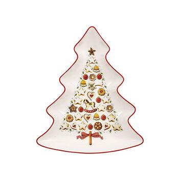 Winter Bakery Delight centro de árbol grande