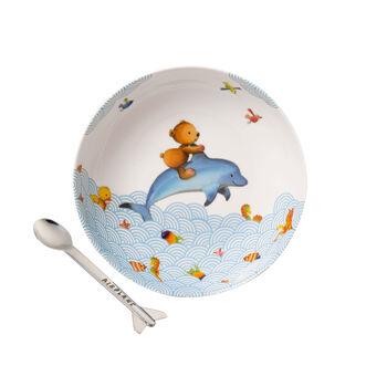 Happy as a Bear Set da pranzo per bambini, 2pz.