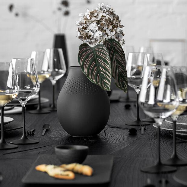 Manufacture Collier noir Florero Perle alto 16x16x20cm, , large
