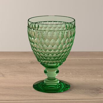 Boston Coloured Bicchiere da acqua Green