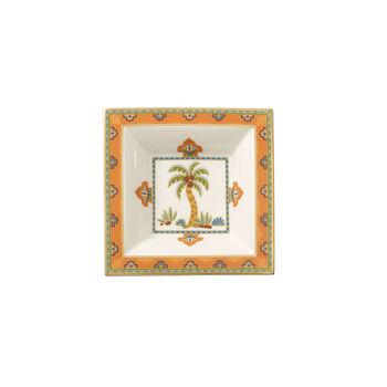 Samarkand Mandarin coppetta quadrata 14x14 cm