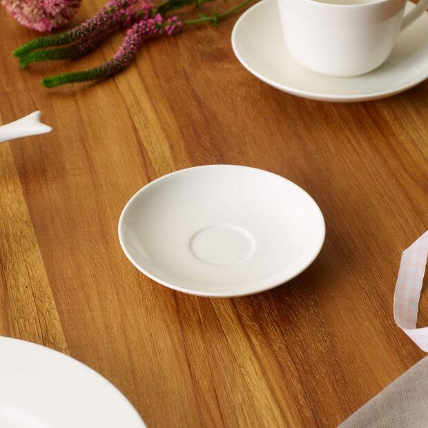 Twist White platillo para taza de moca y expreso, , large