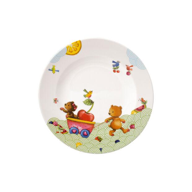 Hungry as a Bear Plato llano niños 21,5x21,5x1,5cm, , large