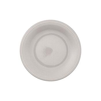 Color Loop Stone plato de desayuno de 21 x 21 x 2 cm