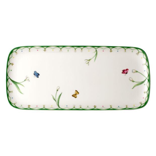 Colourful Spring fuente rectangular para tarta, , large