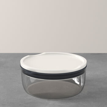 ToGo&ToStay porta pranzo, 13x6cm, rotondo, grigio