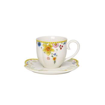 Spring Awakening tazza da caffè con piattino, 260 ml