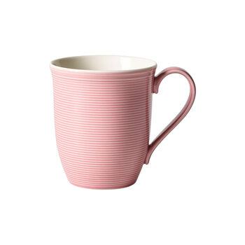 Color Loop Rose tazza con manico 13x9x10cm