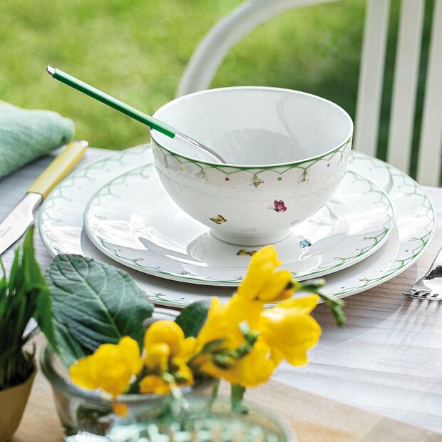 Colourful Spring tazón grande, blanco/verde, , large