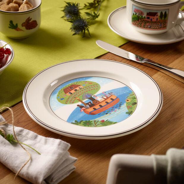 Design Naif plato de desayuno con motivo de arca de Noé, , large