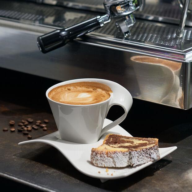 NewWave Caffè piattino per tazza da caffè grande 22 x 17 cm, , large