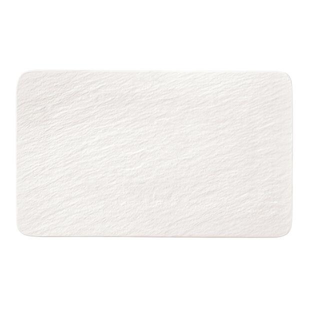 Manufacture Rock Blanc piatto multifunzione rettangolare, bianco, 28 x 17 x 1 cm, , large