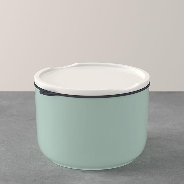 ToGo&ToStay porta pranzo, 13x9,5cm, rotondo, verde menta, , large