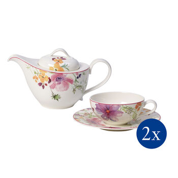 Mariefleur Tea Set de té, 5 pzs., 2 personas