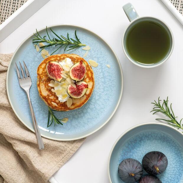 Crafted Blueberry set de desayuno, turquesa, 6 piezas, , large