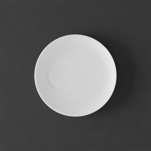 MetroChic blanc Piattino tazza espresso 14,5x14,5x1,5cm, , large