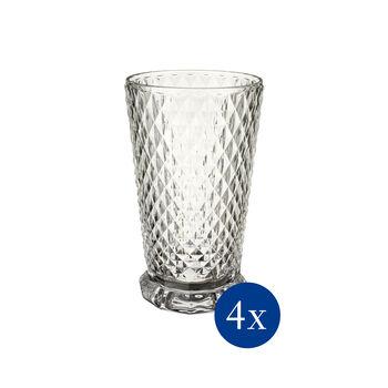 Boston Flare bicchiere da long drink, 4 pezzi