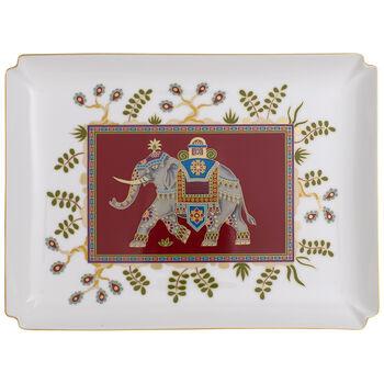 Samarkand Rubin Gifts Piatto decorativo grande 28x21cm