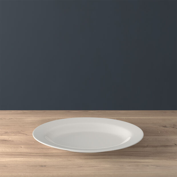 Twist White Piatto ovale (3) 34cm, , large
