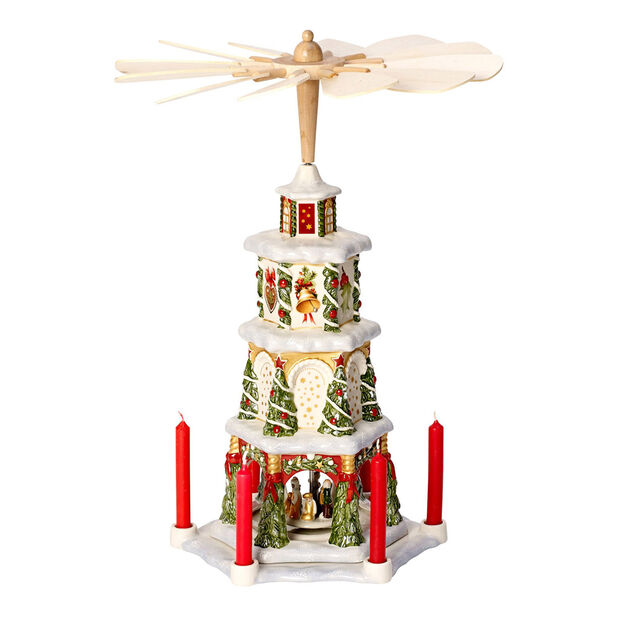 Christmas Toys Memory pirámide de Navidad, , large