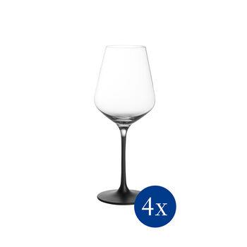 Manufacture Rock copa para vino blanco, platos para pasta, 4 unidades, 380 ml